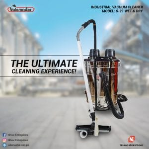Commercial-Vacuum Cleaner-Wet-&-Dry